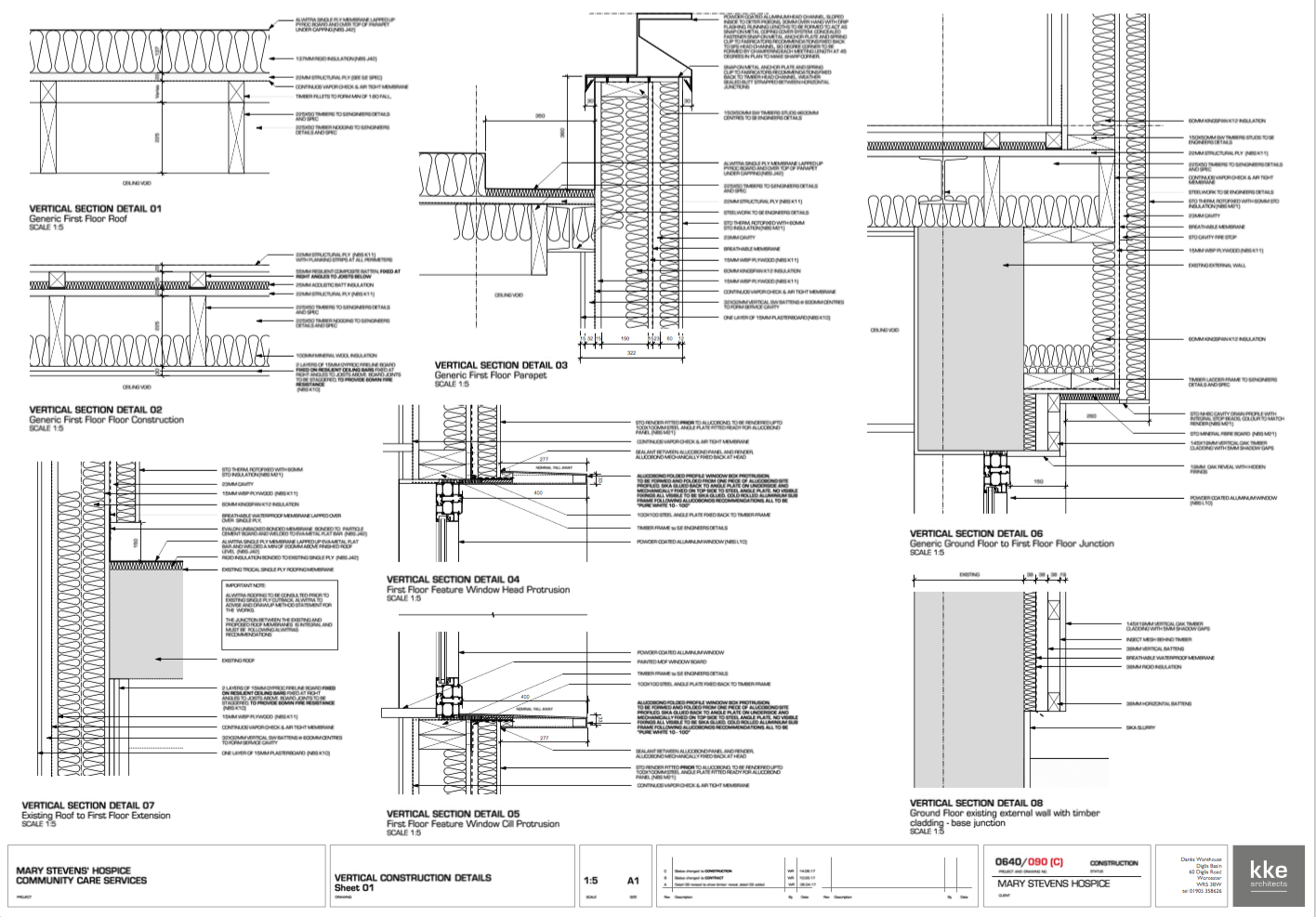 Screen shot 2017 08 10 at kke architects for Bay window plan detail